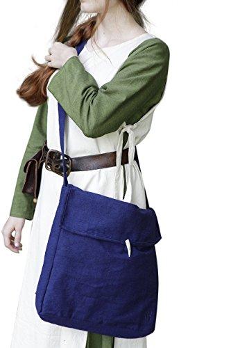 Mittelalter Tasche Ehwaz - Blau von Burgschneider