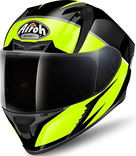 Airoh Casco Valor Eclipse Yellow Gloss L