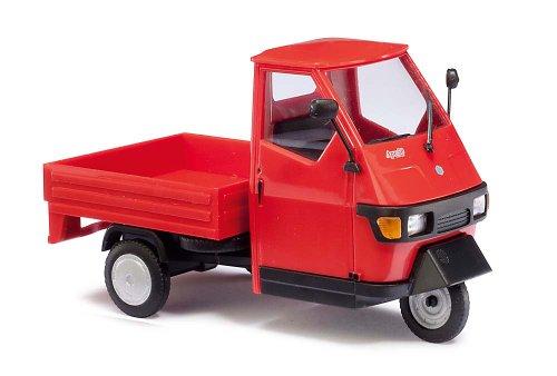 Busch 60001 - Piaggio Ape 50 , Maßstab 1:43, rot