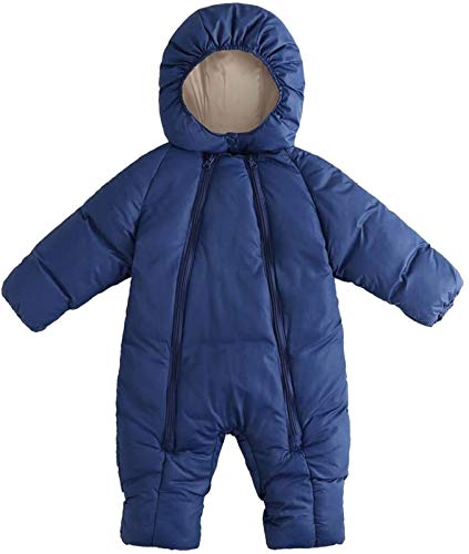 Niños niñas mameluco de algodón espesar Outwear Outwear Kids Sleepit, vestido de traje de sueño Vestido for niños pequeños, niños de manga larga con capucha Pyjamababy Hoodie Snowsuit Infantil Cremall