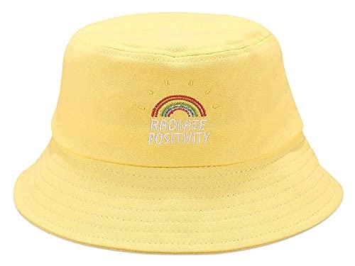 Seupeak Cappello da Sole da Donna Cappello da Sole Sunscreen Cappello da Sole Leggero Shopping Shopping Outdoor Traspirante Beach Beach Beach Caps Cotton (Color : Yellow)