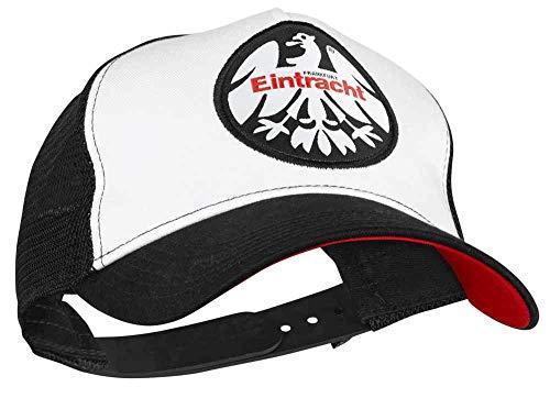 Eintracht Frankfurt Cap - Mesh 1980 - Schildmütze, Kappe, Basecap SGE - Plus Lesezeichen I Love Frankfurt