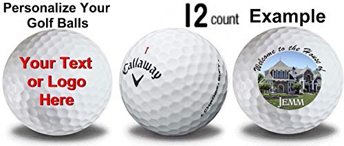 Callaway Chrome Soft Personalized Golf Balls 12-Pack Refinished