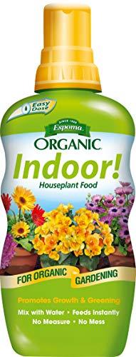 Espoma Indoor! Liquid Plant Food, Natural & Organic Houseplant Food, 8 fl oz, Pack of 1