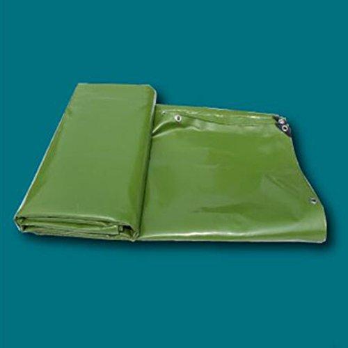 YYHSND Lona Impermeable a Prueba de Lluvia Protector Solar Grueso Impermeable al Aire Libre sombrilla Lienzo Protector de Tela Aislamiento Lona alquitranada (Color : White, Size : 3mx4m)