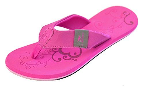 Bockstiegel Damen Zehenstegpantolette Katrin, Größe:38, Farbe:pink