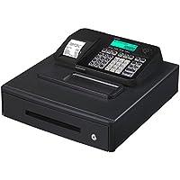 Casio SE-S100MB-BK-FIS GDPdU a habilitar caja registradora incluyendo licencia de software, tarjeta SD y la batería paquete completo y línea telefónica gratuita, negro