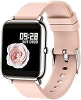 Popglory Smart Watch, Fitness Tracker with Blood Oxygen, Blood Pressure, Heart Rate Monitor, IP67 waterproof Smartwatch...