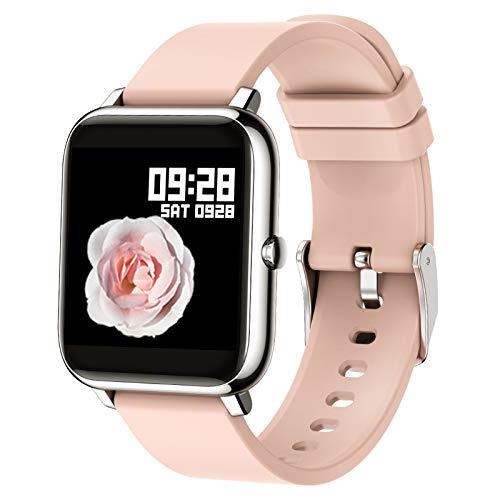 Popglory Smart Watch, Reloj Inteligente con Oxígeno Sanguíneo Presión Arterial Frecuencia...