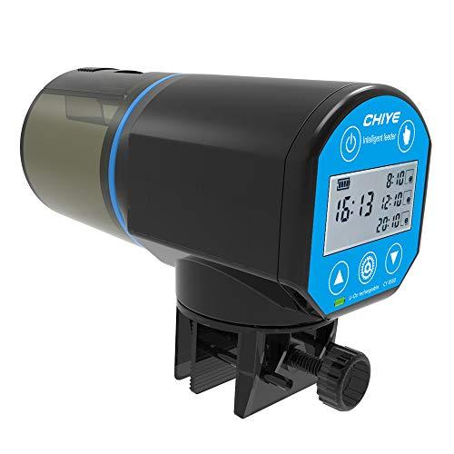 DZL- Alimentador Automático Peces Comedero Automático Peces Temporizador Acuario para Tortuga Pescado...