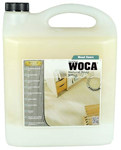 Holzbodenseife weiß 5,0 Ltr - WoCa / Trip Trap Woodcare
