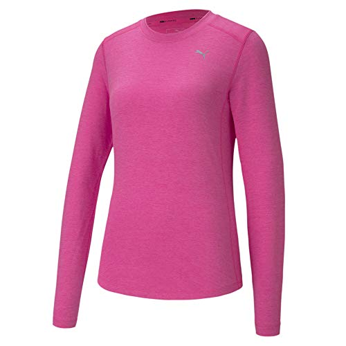 PUMA Ignite Damen Langarm-Shirt Luminous Pink Heather XL