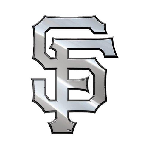 MLB San Francisco Giants Metal Emblem, One Size, One Color