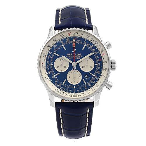 Breitling Navitimer 1 cronografo blu Quadrante automatico da uomo AB0127211C1P2
