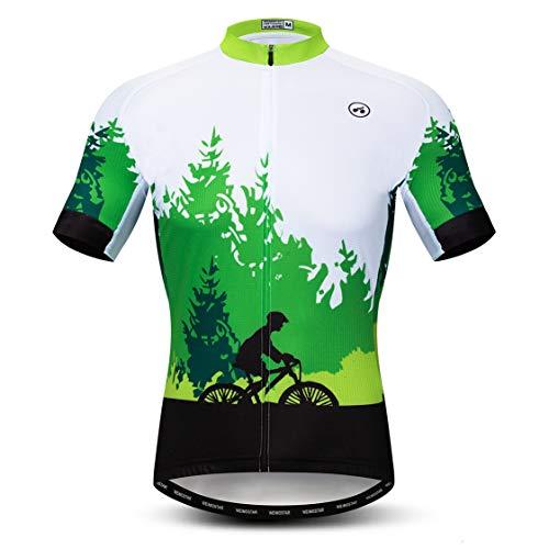 Weimostar Team - Maillot de Ciclismo para Hombre, Camiseta de Manga Corta,...