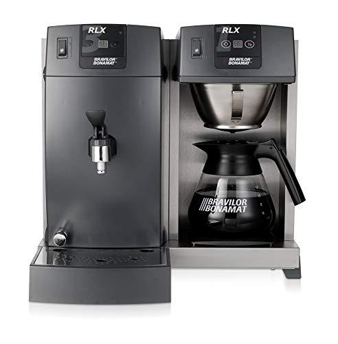 Bonamat Kaffeemaschine RLX 31 mit 1 Glaskanne, 1 Kaffeebrühsystem, 1 Warmhalteplatte und Heißwasser 400V