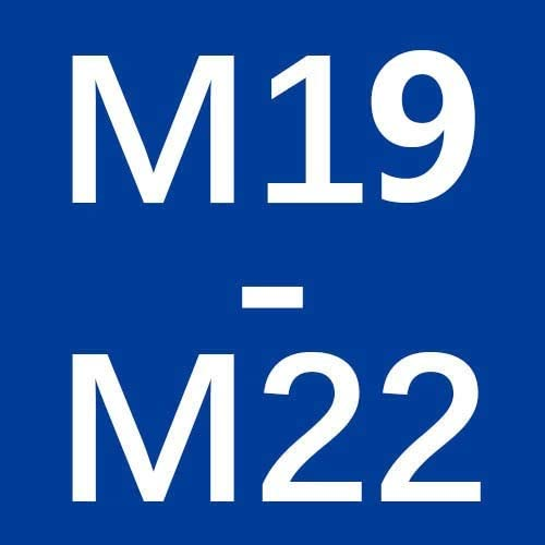 YiHao Adaptador del Grifo La Transferencia De Rosca Exterior M18 M20 M22 M22 De Lat/ón Rosca Exterior del Cuarto De Ba/ño Y Accesorios De Cocina Conjunto De Salida De Agua Size : M16 M22