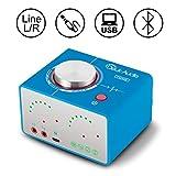 Nobsound Tone 100W (50Wx2) 多機能 Bluetooth 5.0 Hi-Fi オーディオ パワーアンプ ワイヤレス ヘッドフォンアンプ サウンドカード USB AUX RCA ホームステレオスピーカーシステム (新ブルー)