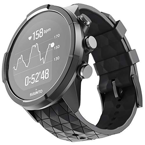 NotoCity Compatible con Correa Suunto 9 Spartan/Titanium/Smart Watch GPS/Suunto Spartan Sport Wrist HR (Negro)
