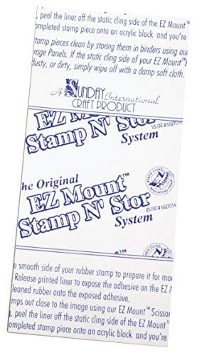 Rayher Hobby 28286000 EZ Mount- Schaumstoff, für unmontierte Stempel, Beutel 2 Stück, je 21, 6 x 30,4 cm, Stärke 3 mm, für Acryl-Stempelblocks