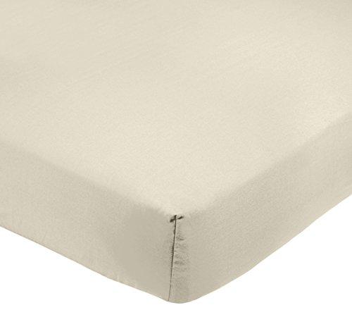 Amazon Basics AB 200TC Poly Cotton, Combinación de algodón, Crema, 150 x 200 x 30 cm