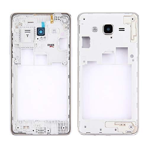 Dongdexiu Accesorio de Repuesto For Samsung Galaxy On5 / G5500 Bisel de Marco Medio (Color : Silver)