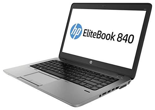 "HP 840 G1 - Ordenador portátil 14"" (Intel I5 de 4ªGen, 8GB RAM, 128GB SSD, Windows 10 Profesional), Negro - Teclado QWERTY Español"