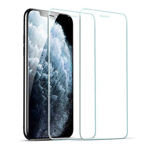 ESR Verre Trempé Compatible avec iPhone 11 Pro, iPhone X,iPhone XS, 2 Pièces, Kit d'Installation Inclu, Film Protection Écran Compatible avec iPhone 5.8 Pouces