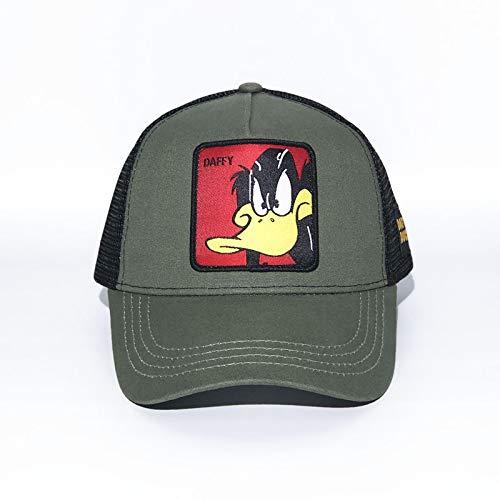 sdssup Sombrero de Conejito de Dibujos Animados Gorras de Padres e Hijos Verde Militar Ajustable