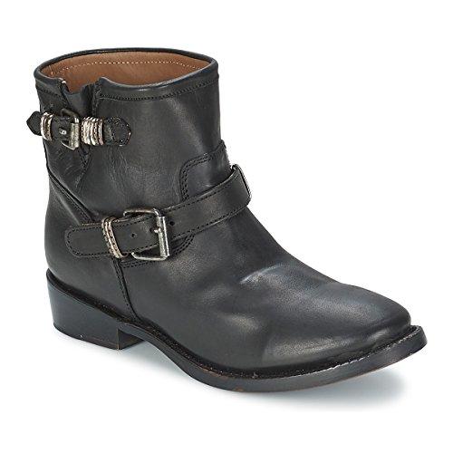 ASH Vick Botines/Low Boots Mujeres Negro Botas de caña Baja
