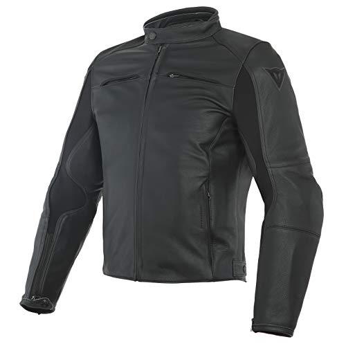 Dainese Razon Motorradjacke aus Leder, schwarz 44 schwarz