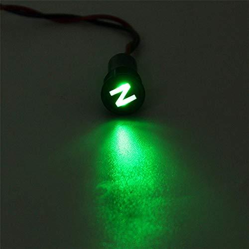 RanDal 12 8Mm Led Dash Panel Warnhinweis Lichtindikator Lampe Mit Linie Und Symbol Für Autoboot - #20