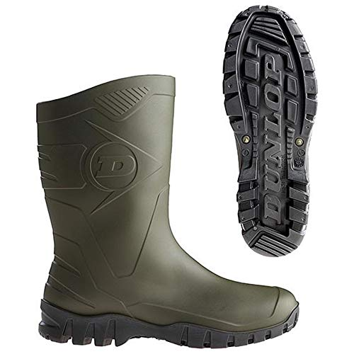 Dunlop laarzen, Dee' K580011 Dee Dgruen/sw maat 41