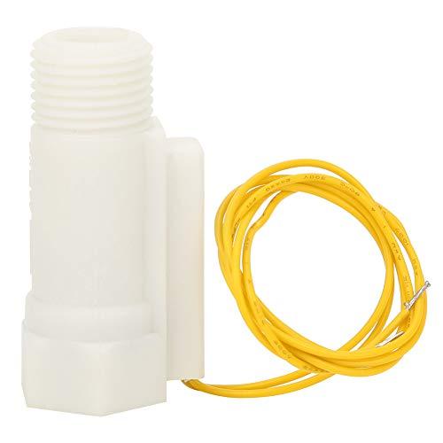 Heayzoki Interruptor de Agua Interruptor de Sensor de plástico Sensor de presión de Agua G1 / 2in Roscas de tubería estándar/Conveniente para la conexión