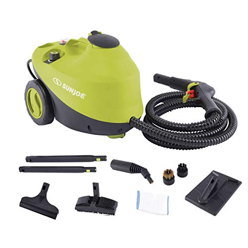 Sun Joe STM30E Heavy Duty Pressure Steamer, 212-Degree Steam Blast at 50-PSI 30-Second Rapid Heating, Continuous Fill Technology, Chemical-Free Cleaning, Kills and Sanitizes 99.9% of Germs