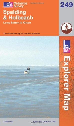 OS Explorer map 249 : Spalding & Holbeach