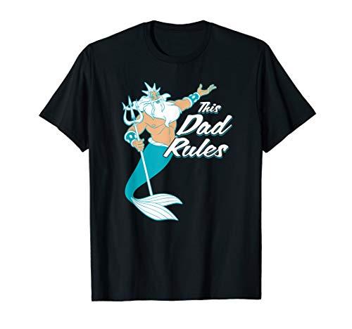 Disney The Little Mermaid King Triton Dad Men's T-Shirt
