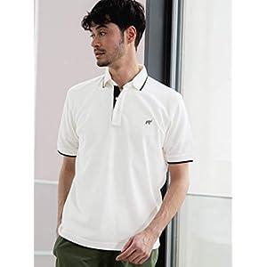 [グリーンレーベルリラクシング] 【 WEB限定 】 SC コンビカラー ポロシャツ < 機能性/吸水速乾・抗菌 > # 32171994853 0170 メンズ ホワイト (01) L