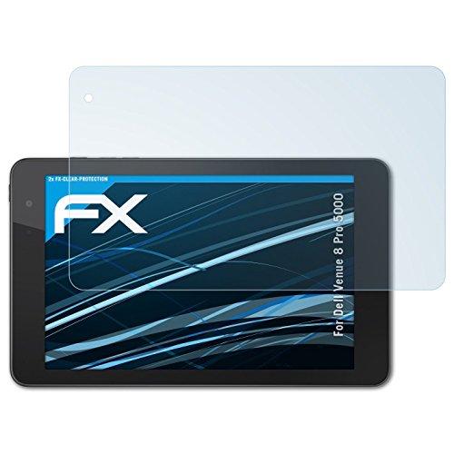 atFolix Schutzfolie kompatibel mit Dell Venue 8 Pro 5000 Folie, ultraklare FX Bildschirmschutzfolie (2X)