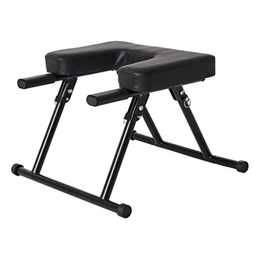 Sale!! JLFSDB Yoga Headstand Bench Inversion Chair Gym Workout Stool for Workout Home Gym Unisex for...