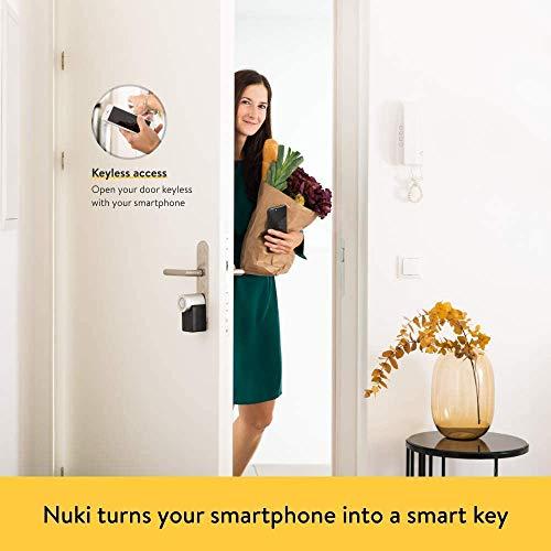 Nuki Smart Lock 2.0 – Apple HomeKit – Amazon Alexa – Google home – IFTTT – Elektronisches Türschloss - 3