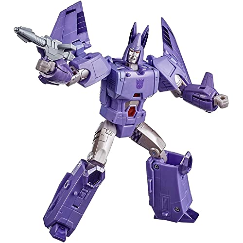 QKESS Transformers Toys, KO Transformers Toys Decepticons Hurricane Robot Toy Model Best Gifts For Kids Transformers Robot Toy.