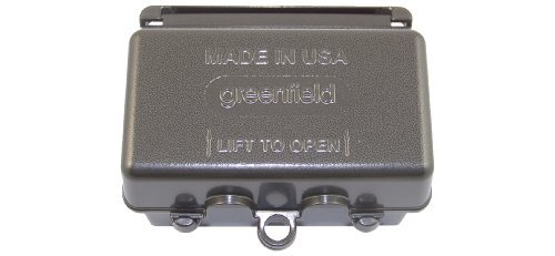 Greenfield WIUHBRS Weatherproof Electrical, Horizontal While In Use Outlet Cover, Bronze by Greenfield