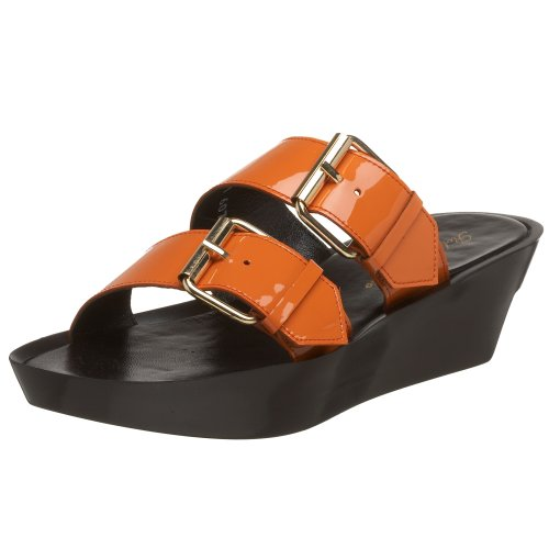 Robert Clergerie Women's Mars Sandal,Orange,8.5 B