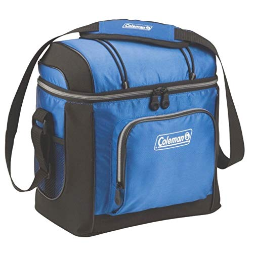 Coleman Soft Cooler Bag | 16 Can Cooler, Blue