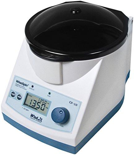 Witeg Zentrifuge CF-10 1.000-13.500 U/min, inkl. fix geneigtem Rotor für Reaktionsgefäße, ideal für DNA- und RNA-Anwendungen, Miniprep-Kit und weitere