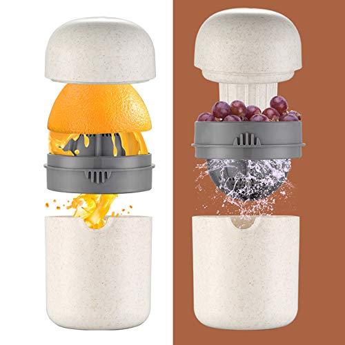 HUADADA Zitronenpresse Zitruspresse manuell Zitronenpresse mit Auffangbehälter Handsaftpresse