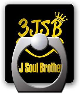 スマホリングスタンドホルダー 【3JSB】 黒/金 002