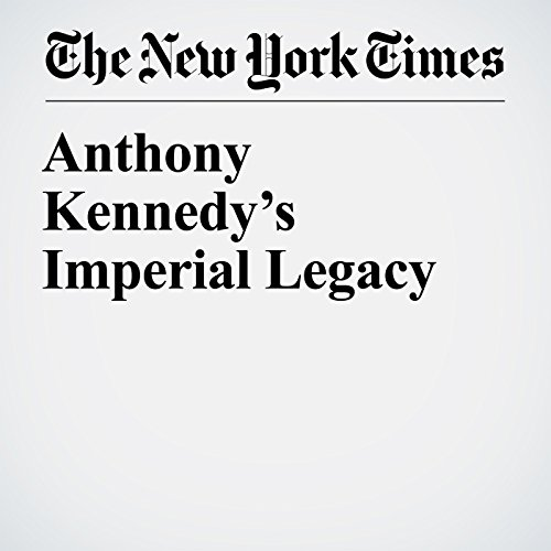 Anthony Kennedy's Imperial Legacy copertina