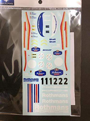 デカールプール 1/24 ポルシェ962Cロスマンズフルスポンサーデカール 86ル・マン24 DP060
